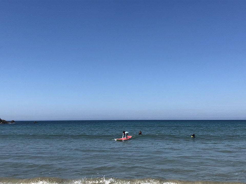 野北でサーフィン初体験その1