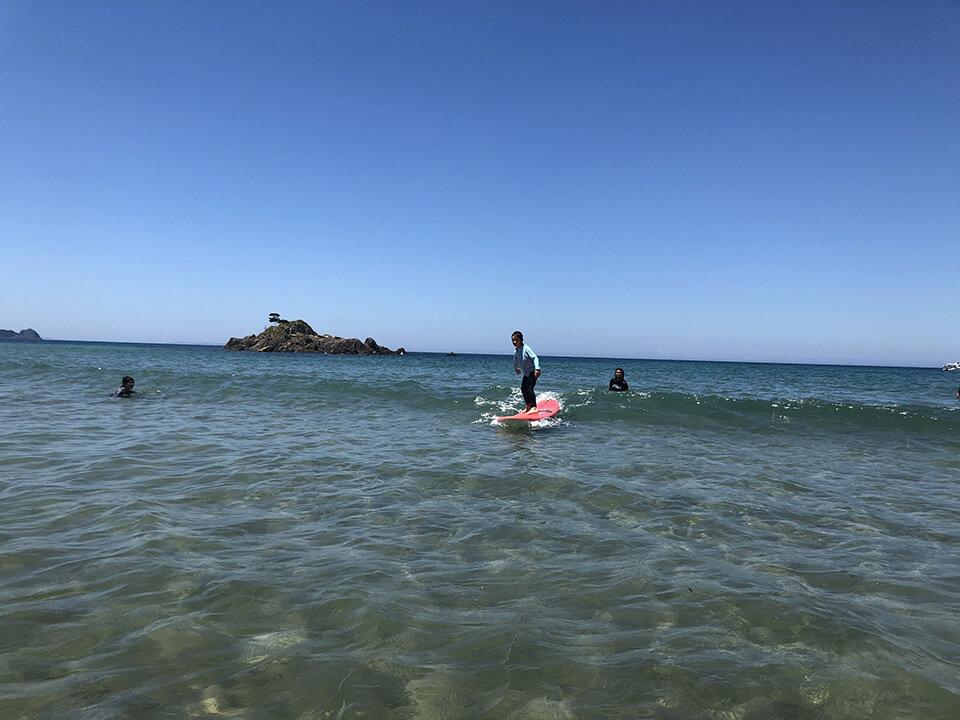 野北でサーフィン初体験その3